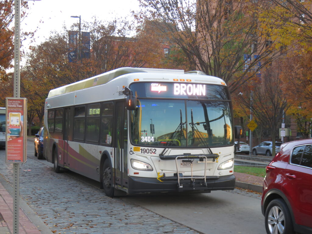 CityLink Brown Bus